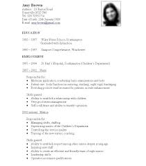 sle resume formats for experienced resume sle for nurses without experience intended