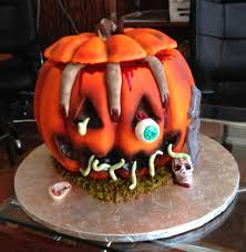 spooktacular halloween inspired cakes eyeball worm soup cake guff