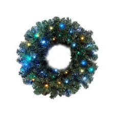 lighted christmas wreath cmi 30 pre lit battery operated led lighted christmas wreath