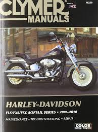 harley davidson fls fxs fxc sofftail series 2006 2010 clymer
