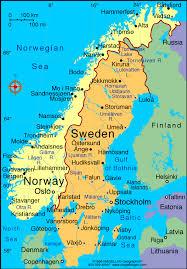 map of sweden map of goteborg sweden toursmaps