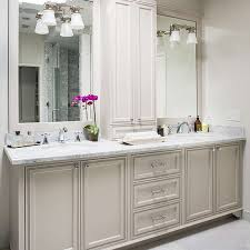 bathroom vanity mirror with lights light gray and peacock blue bathroom transitional bathroom