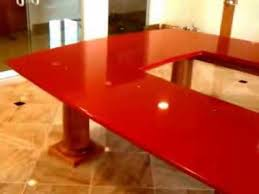 Quartz Conference Table Silver Star Red Quartz Conference Table Youtube