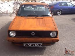 volkswagen pickup slammed vw caddy mk1 pick up rat euro dub rusty full mot 6 tax g60 rear