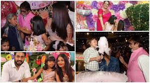 aaradhya bachchan u0027s perfect birthday cake to abram u0027s candyfloss