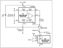 High Voltage Bench Power Supply - app note high voltage programmable gain current monitor