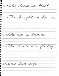 penmanship practice sheets for adults u0026 kindergarten