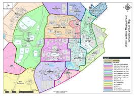 map zones facilities management zone maps facilities management unc