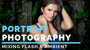 ambient light photography tutorial outdoor portrait photography tutorial mixing ambient flash