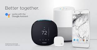 new smart home products google assistant support comes to ecobee smart home products