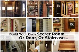 how to build your home build your own secret room or door or staircase
