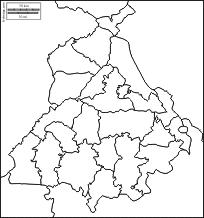 punjab free maps free blank maps free outline maps free base maps