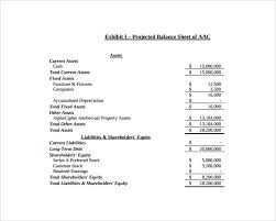 End Of Year Balance Sheet Template Balance Sheet Template 16 Free Word Excel Pdf Documents