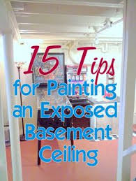 how to style an unfinished basement on the cheap basements bob