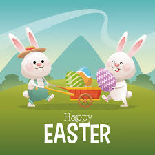 happy easter cards happy easter card with bunny vector 12 vector animal