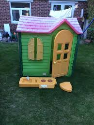 little tikes evergreen country cottage playhouse new phone can