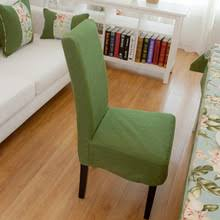 Green Chair Covers Popular Linen Dining Chair Covers Buy Cheap Linen Dining Chair