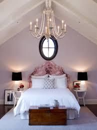 pale purple bedroom with walls painted in slip by benjamin moore