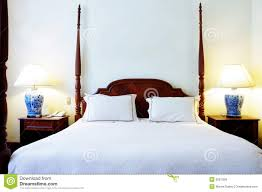 Schlafzimmer Bett M El Martin Bett Mit Vier Pfosten Stockfoto Bild Von Innen Bett 9281358