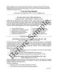 Sample Resume For Supply Chain Management by Résumé Samples Chesepeake Career Management Services