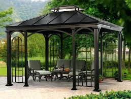 porch gazebo ideas deck costco 5823 interior decor