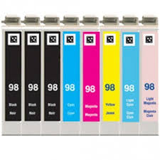 epson ink 99 light magenta epson 98 99 t098 t099 series 8 pack high yield ink comboink