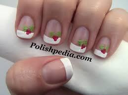 christmas holly nail art polishpedia nail art nail guide