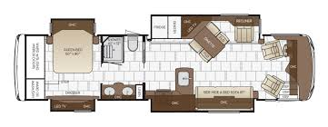 What Are Floodplans by Dutch Star Floor Plan Options Newmar