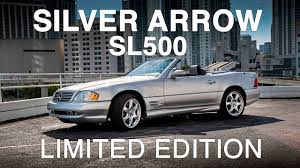 mercedes benz silver arrow sl500 r129 youtube