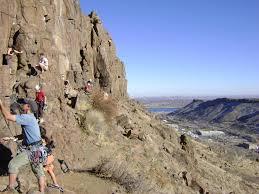 rock climbing routes u0026 photos in north table mountain golden