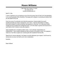 cover letter cover letter samples for accounting cover letter