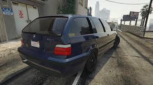 Bmw M3 Wagon - bmw m3 e36 touring gta5 mods com