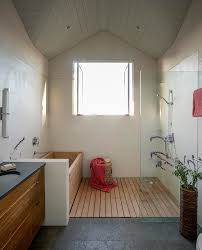 chicago solid surface shower bathroom contemporary with his and