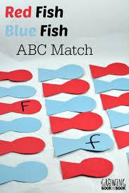 De Seuss Abc Read Aloud Alphabeth Book For Dr Seuss Activities Fish Blue Fish Abc