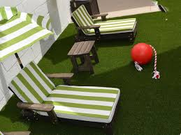 faux grass shinnecock hills new york paver patio backyard