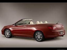 chrysler sebring convertible buying guide