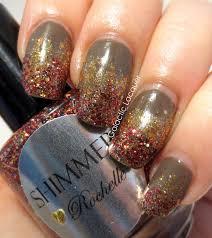 cute thanksgiving nails galactic lacquer falling forward nail art challenge fall
