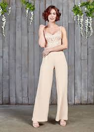 Wedding Dress Jumpsuit Lockwood Bridal Jumpsuit House Of Ollichon