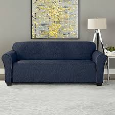 sure fit denim sofa slipcover sure fit designer denim furniture slipcover bed bath beyond