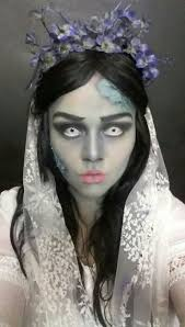 The Corpse Bride Halloween Makeup