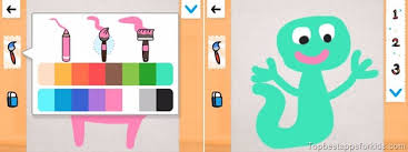 coosi box free creativity app with interactive drawings top