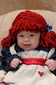 Raggedy Ann Costume Cute Raggedy Ann Baby Costume Photo 2 6