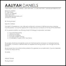 resume cover letter pricing analyst resume template for kitchen hand