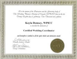 wedding planner certification magical moment events about