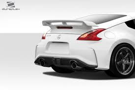 nissan 370z spoiler kit 2009 2016 nissan 370z duraflex n 3 rear bumper cover 1pc 112275