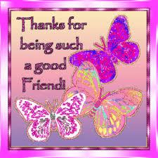 thank you friendship butterflies free friends ecards greeting