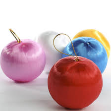 assorted satin ornaments ornaments and