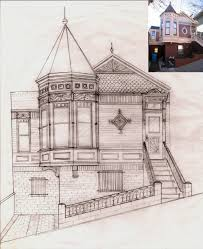 Victorian House Drawings by Thomas Leach Portfolio