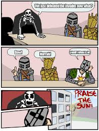 Funny Dark Souls Memes - a 4 yearold has revealed to me a secret about dark souls that none