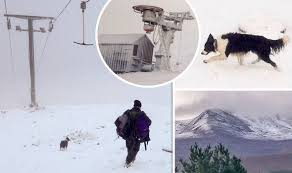 uk weather snow in britain captured in pictures weather